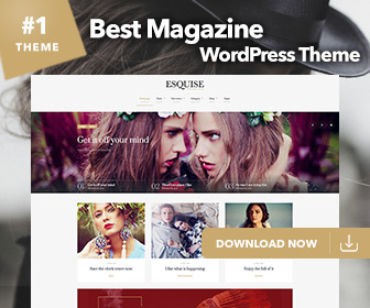 Esquise WordPress Theme