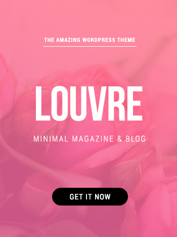 Louvre WordPress Theme Banner