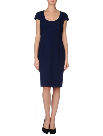 Basic dark blue dress