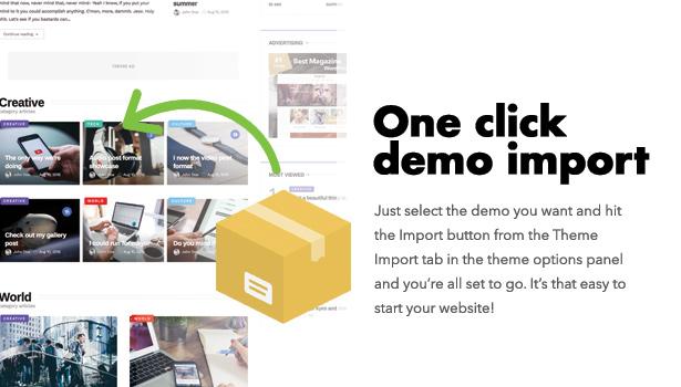 Diginex has one click demo install