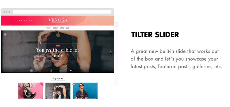 Venosa - Magazine & Blog WordPress Theme - 12