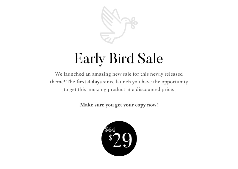 Early Bird Sale avena - photography wordpress for professionals (photography) Avena – Photography WordPress for Professionals (Photography) early bird