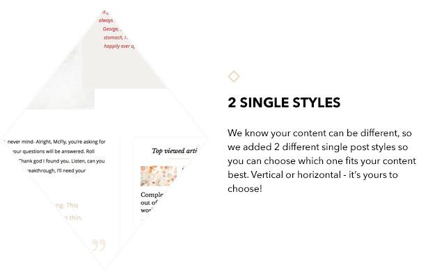 2 Giselle single styles