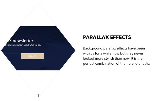 Parallax effects
