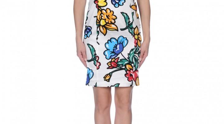 Flowers on dress