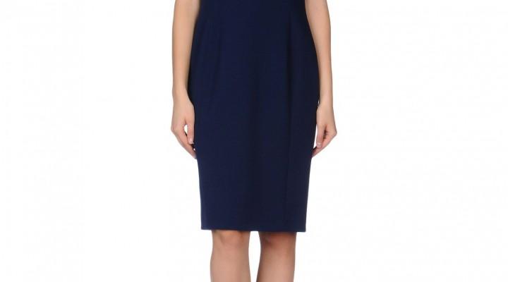 Basic dark blue dress