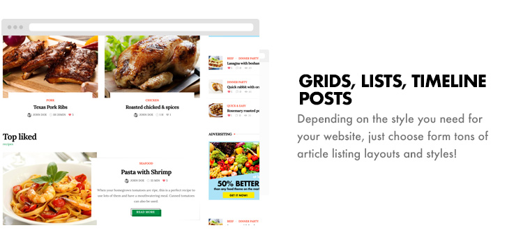 Foodbook - Recipe Community, Blog, Food & Restaurant Theme - 25