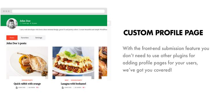 Foodbook - Recipe Community, Blog, Food & Restaurant Theme - 14