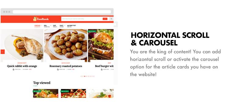 Foodbook - Recipe Community, Blog, Food & Restaurant Theme - 23